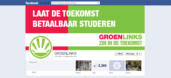 facebook visualisatie