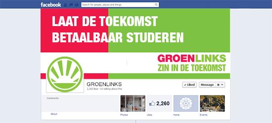 facebook visualisatie