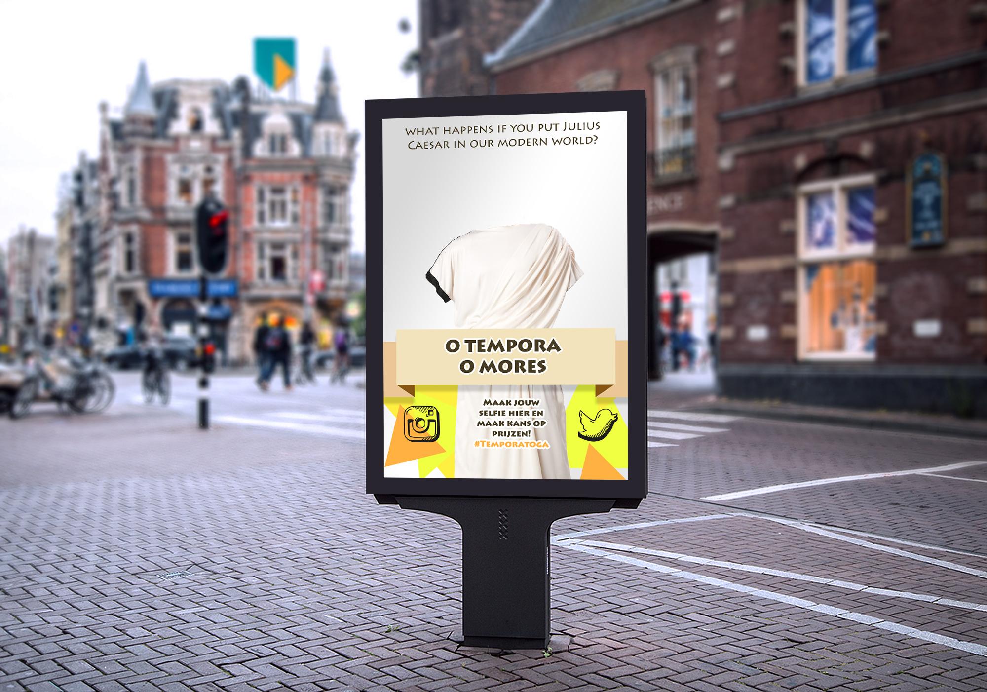 Free Market Vertical Poster Mockup For Advertisement